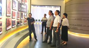 央视财经频道总监助理陈红兵莅临伟星考察指导