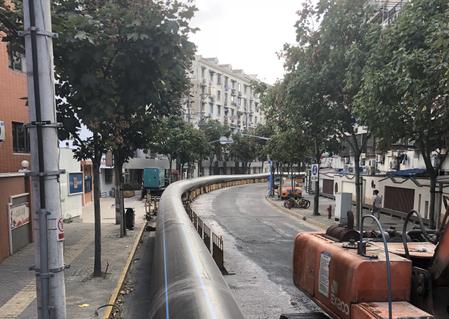 伟星管带你了解国内大口径Dn1200 PE给水管铺设工程
