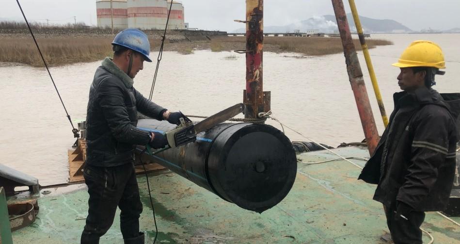 伟星全力参与石浦至鹤浦供水工程  保障鹤浦人民喝上水