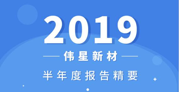 一图看懂伟星新材2019半年度报告